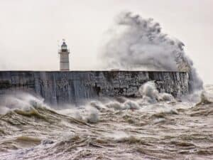 resilience through coaching with Jackie Huntly- lighthouse in storm